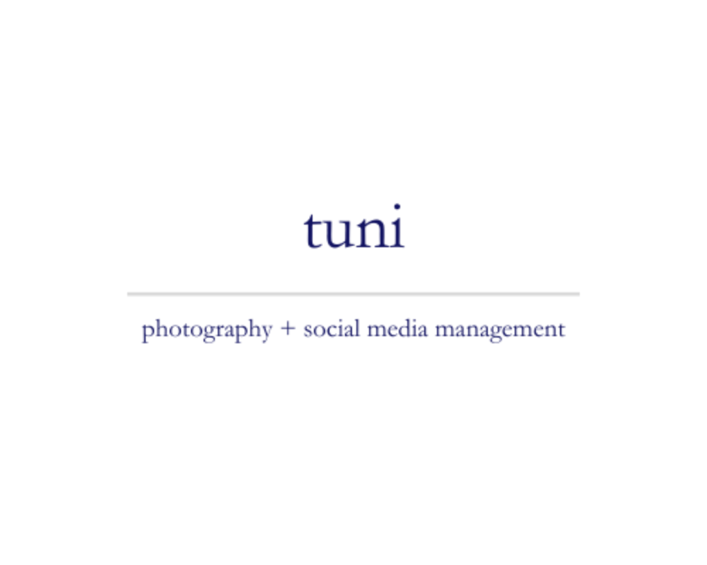 Tuni | photography + social media management