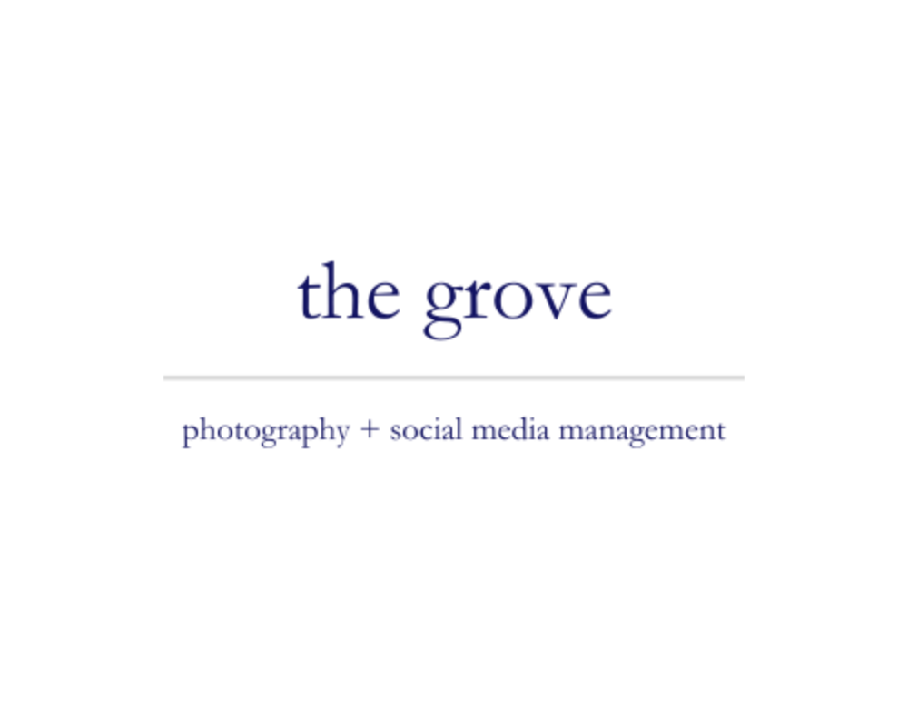 The Grove | photography + social media management