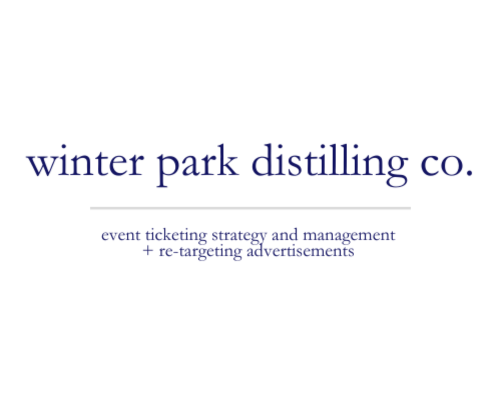 Winter Park Distilling Co. | event ticketing strategy and management + re-targeting advertisements